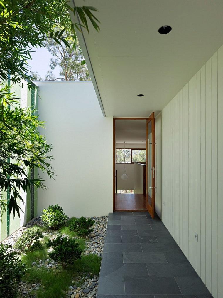 patio interior con frescura