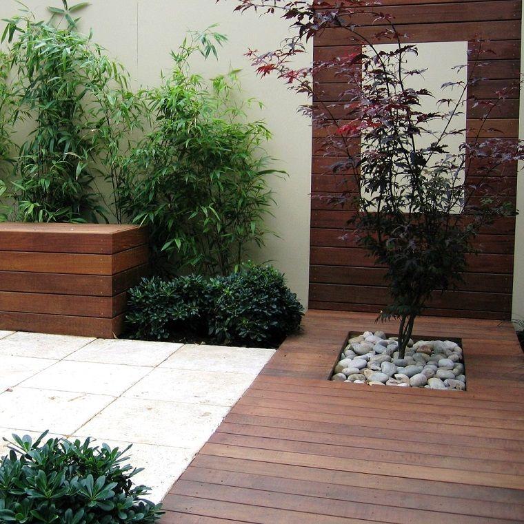 patio pequeño estilo zen