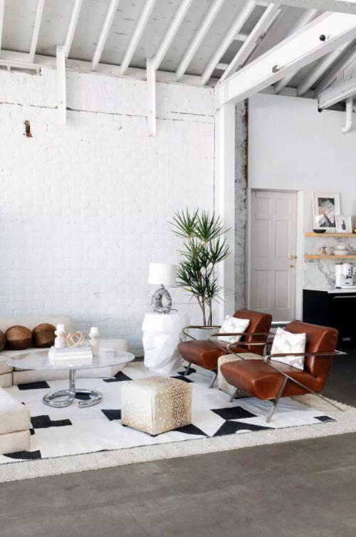 Salón minimalista modernos y Cohesivo