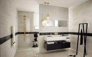 baños con media pared