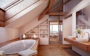 decoracion de baños con jacuzzi