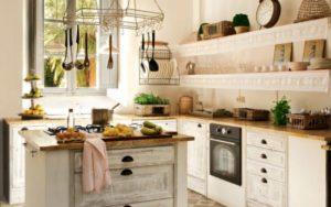 decoración de cocinas campo