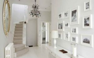 decoración en pasillos pequeños