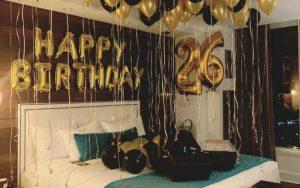 decorar habitacion para cumpleaños mi novio