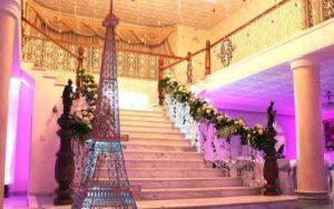 escaleras para decorar fiestas