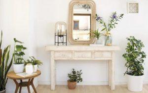 ideas para decorar mesa de entrada