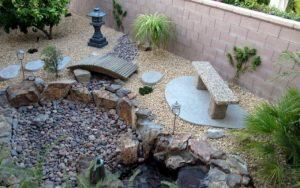 jardines pequeños modernos con piedras