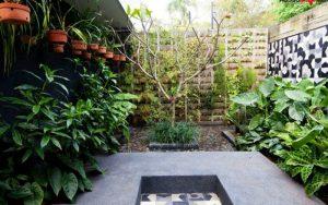 paredes decoradas para jardin
