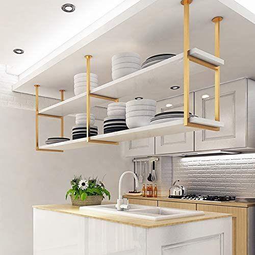 Estantes Aéreos en cocina