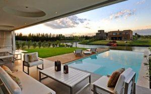 Casas minimalistas con piscina