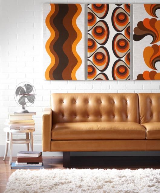 decoración vintage para el salón artwork
