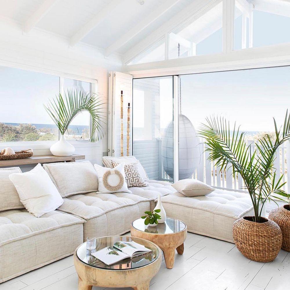 En un salón tropical, las vistas también son importantes