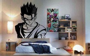decoracion anime para habitacion