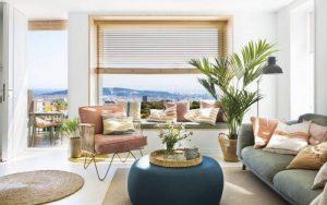 decoración apartamento verano