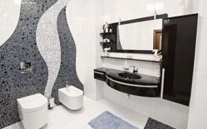 decoracion de baños con mosaicos
