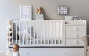 decoración de habitaciones de bebes recién nacidos