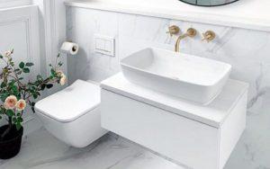 decoracion de lavabos de baño