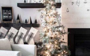 decoracion navideña minimalista