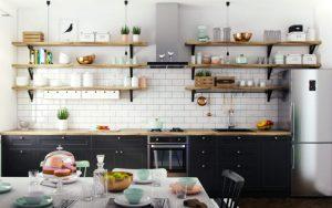 decorar estantes de cocina