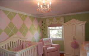 pintar habitación bebé niña