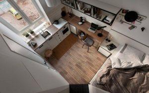 piso de 20 metros cuadrados