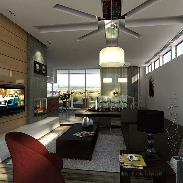 salón pequeño perfecto para la vida moderna
