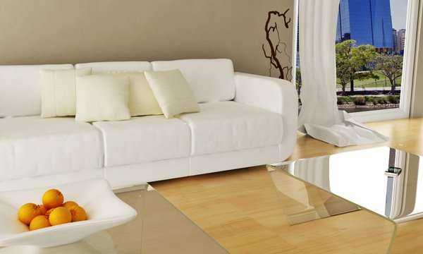 salon moderno, limpio y elegante