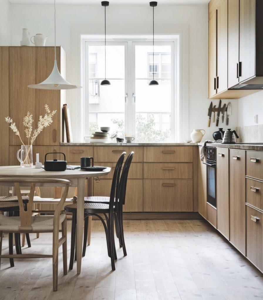 Madera Nórdica en la Cocina