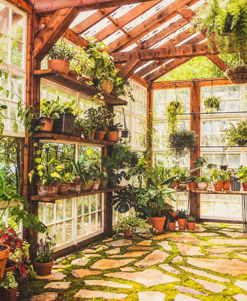 Decorar tu jardín de invierno con un invernadero