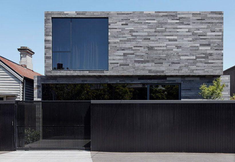Casas de piedras modernas tipo laja