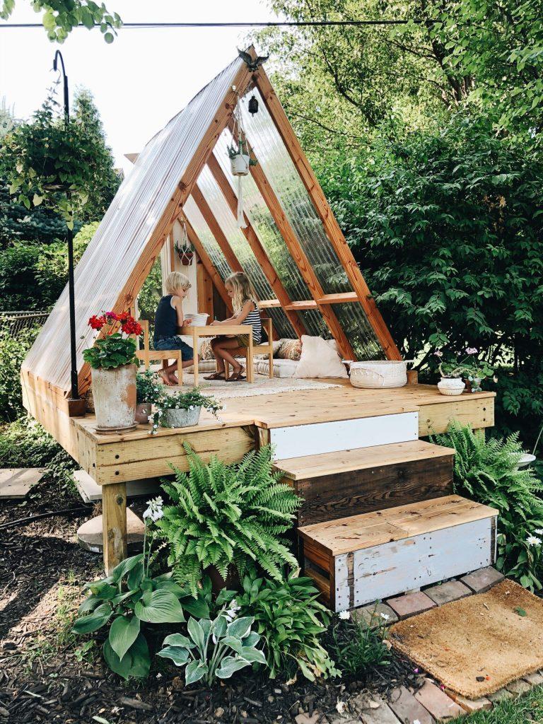 Jardines de invierno también para los niños