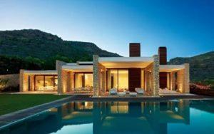 Casas de piedras modernas