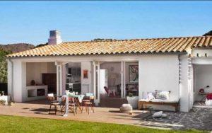 Casas mediterráneas pequeñas