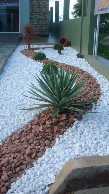 Jardín de cuarzo Sencillo y hermoso
