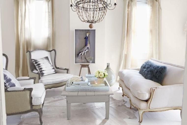 salones modernos blancos elegantes