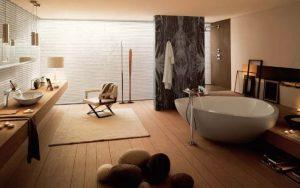 decoración de baños grandes modernos