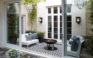 decoración de patios internos pequeños