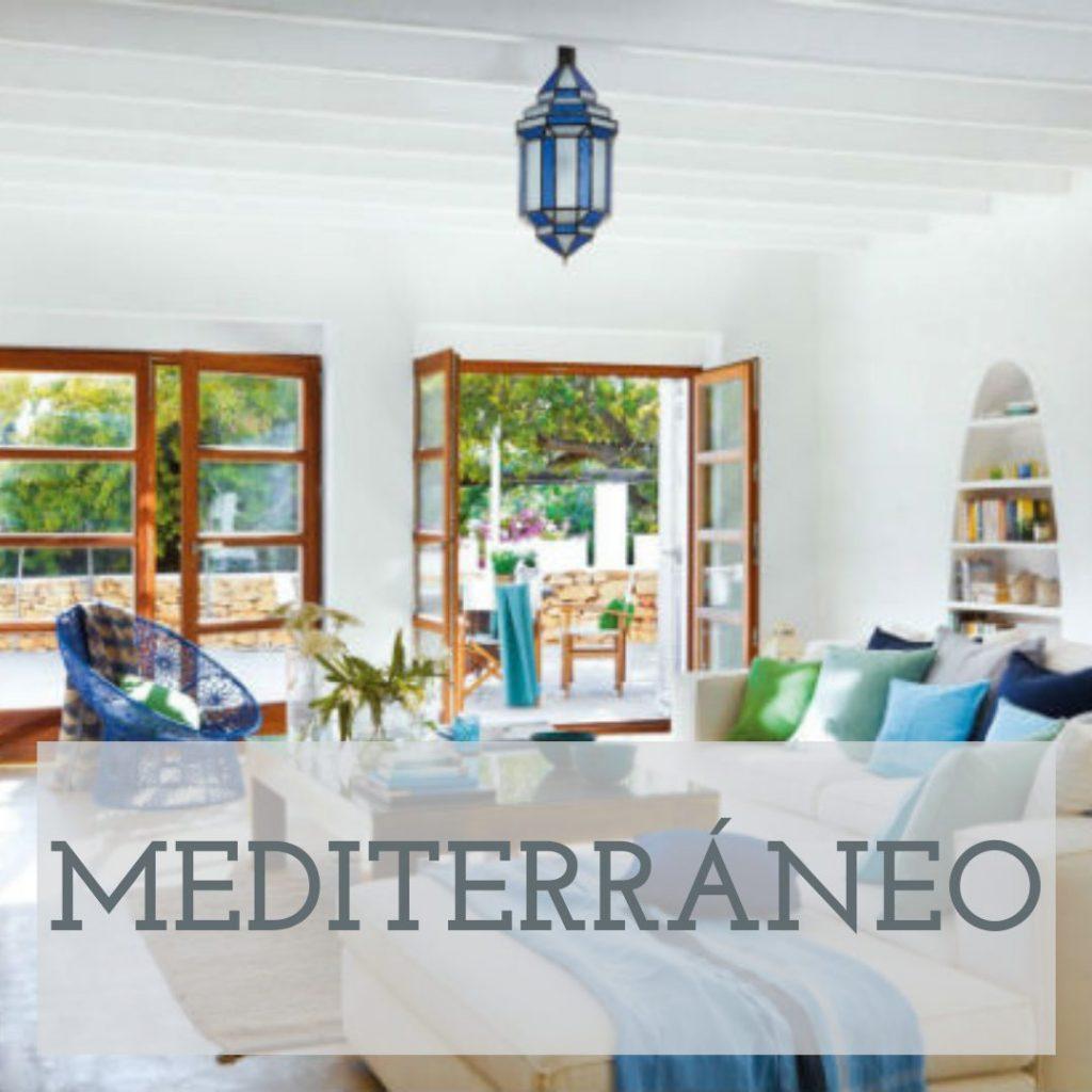 decoracion mediterranea