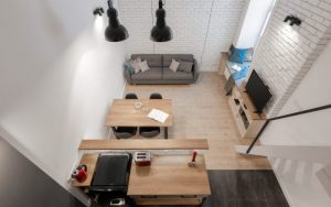 decoracion mini pisos