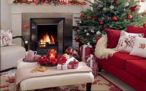 decoracion navidad piso pequeño