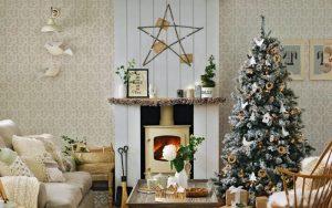 decoracion navideña nordica 2021