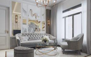 decorar un salón clásico renovado