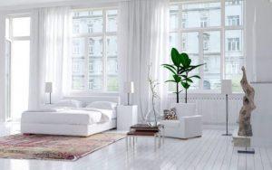 dormitorios blancos modernos