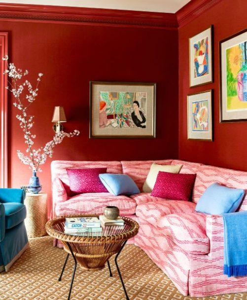 elige un sofá en l para el rincón del salón