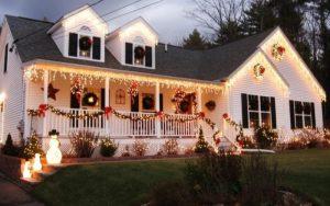porches decorados de navidad