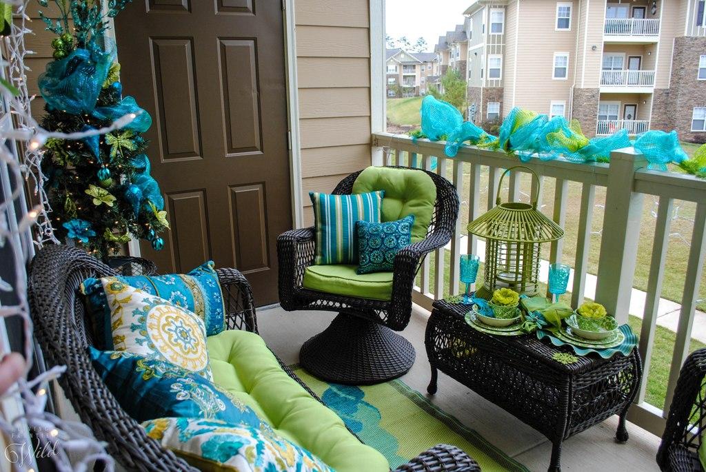 Una Navidad Turquesa para tu balcón en 2021