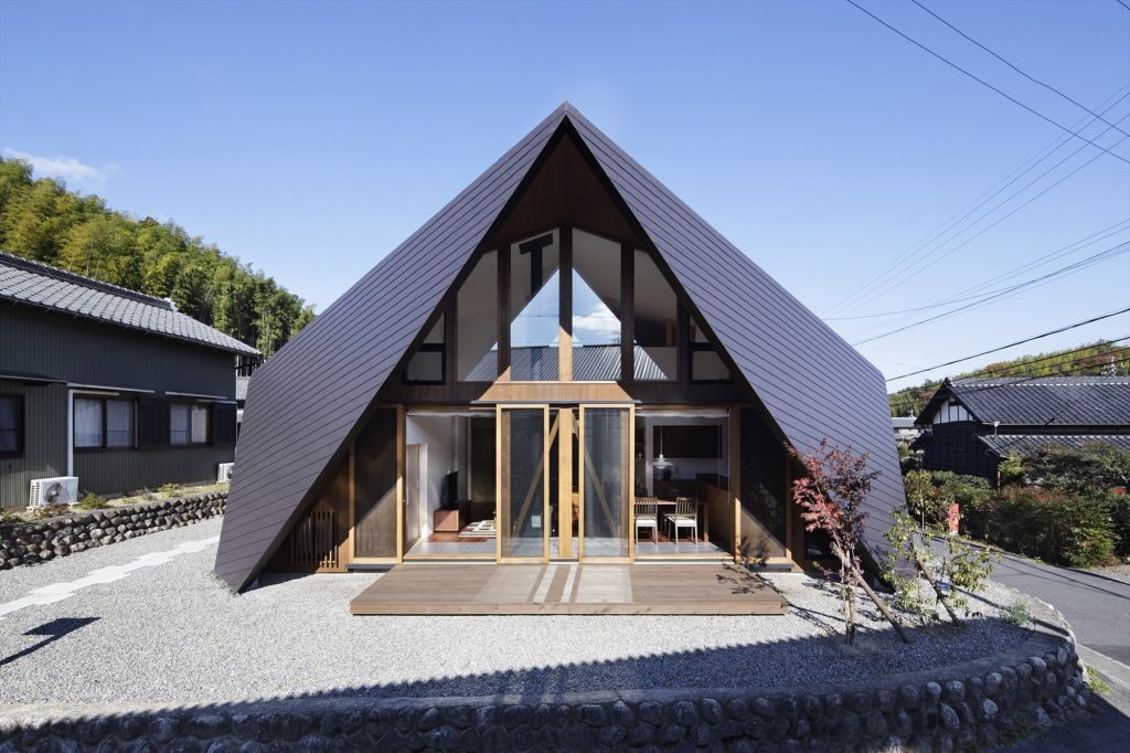 Cabaña japonesa Inspirada en el Origami