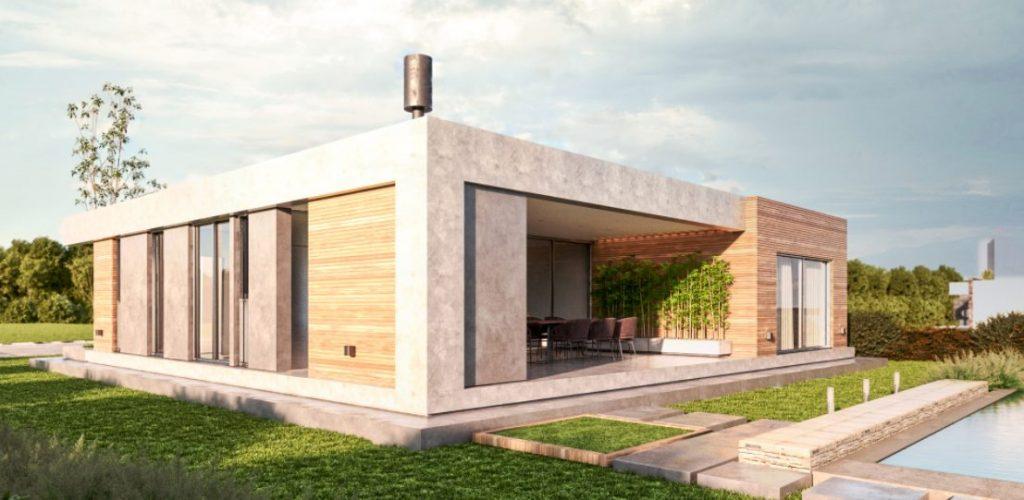 Casas planta baja modernas estilo minimalista