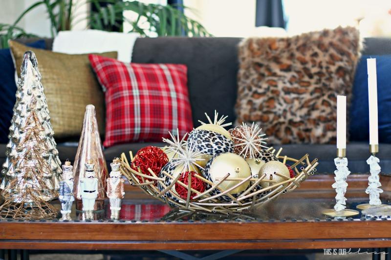 Decoraciones Brillantes Abstractas para la mesa del salón