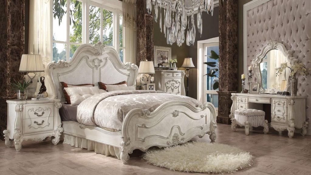 Dormitorio Vintage y blanco al Mejor Estilo Bridgerton